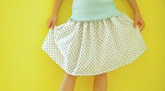 Simple Skirt pattern for kids