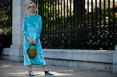 The+Best+Street+Style+At+New+York+Fashion+Week+SS18+#refinery29+http://www.refinery29.uk/2017/09/171605/new-york-fashion-week-street-style-spring-2018#slide-27