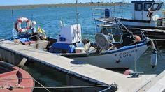 I love these smaller boats in Santa Luzia http://www.tavira-today.com