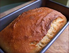**Soft White Bread (no bread machine)  **Turned out GREAT. Soft and delicious!