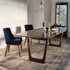 Dining table with emperador marble top and walnut base tables vibieffe opera dining table marble top 500x500g workwithnaturefo