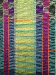 Handwoven twill.  By Barbara Herbster.