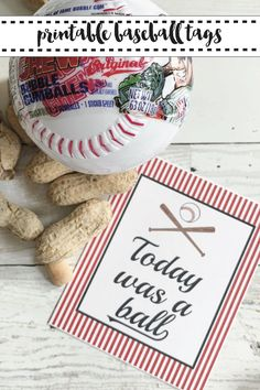 Download these FREE printable baseball party tags from Everyday Party Magazine #Baseball #BaseballPartyPrintables