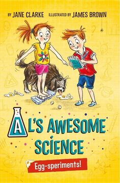 Al loves to Eggsperiment! The first book in our new series is available now in stores and online.