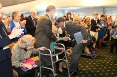 Phyllis Schlafly and Governor Rick Perry, 9-11-15