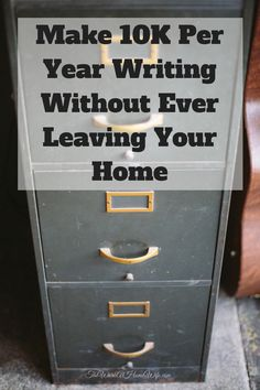 If you enjoy writing, there are some great work from home opportunities you could pursue, and with some of these jobs, you could easily make around $10,000 per year.