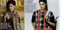 November'15 #Grazia  - #backpack #danieladallavalle #collection #fw15