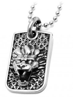 """""""Lion"""" Dog Tag by Room101"""