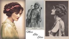 Lily Elsie - Edwardian beauty