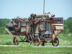 Old Threshing Machines For Sale