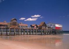 The Pier in Old Orchard Beach, Maine
