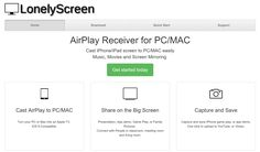 A download which allows you to mirror the screen and audio of an iPad or iPhone on a PC or Mac over wifi through AirPlay.