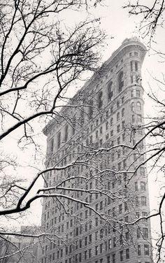 Michael Kenna - Flatiron Building, Study 2, New York, New York | 1stdibs.com