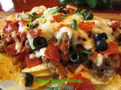 spicy italian nachos | Spicy Italian Nachos | Nachos