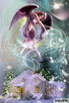 Angel of Music and Light....Surround my home with God's white light of love and protection