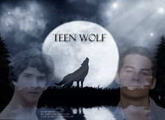 This is a present that I am doing for a friend of mine who loves Teen Wolf as much as me! Credits on image! Scott And Stiles, Teen Wolf, Batman, Superhero, Fictional Characters, Fantasy Characters