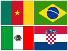 Your Quick Guide To Group A Teams of the FIFA World Cup 2014
