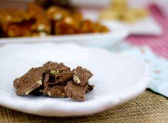 Coco-Cocoa-Walnut Bark / @DJ Foodie / DJFoodie.com