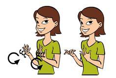 Wait in Baby Sign Language