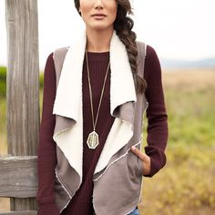 Welcome cooler days with warmer hues like burgundy, mustard & olive.