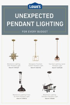 Shop unexpected pendant lighting options at unexpected prices today ideas diy ideas decoration ideas for small spaces ideas modern ideas farmhouse ideas color My New Room, My Room, Budget, Rustic Chic, Modern Interior Design, Pendant Lighting, Chandelier, Home Remodeling, Diy Home Decor
