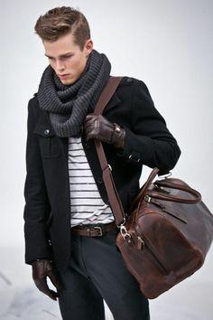 manteau homme zara de couleur noir, pour les hommes modernes