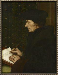 Hans HOLBEIN dit le Jeune Augsbourg, 1497 - Londres, 1543 Erasme
