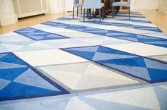 Rug Ribbon by Studio Thomas Eurlings for the Dutch Ambassador's Residence in Tokyo, produced by ICE International
