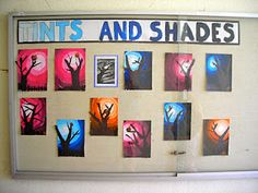 @Kim Blatchford. Thought of you with this one :) maybe for next year! Tints and shades...gorgeous project!