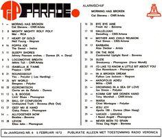 ALARMSCHIJF  Cat Stevens - Morning Has Broken  was 45 jaar geleden de Alarmschijf van deze week.  YOUTUBE: youtube.com/watch?v=U5sSEkZ86ts&index=86&list=PLpJgc39WxNAFXQ89VA0htd81u6G--_9wU  SPOTIFY: open.spotify.com/track/0GvAi1lFRDLXkPr9Y7WFkD