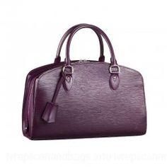 Louis Vuitton Epi Leather Handbag Cassis LV M5907K