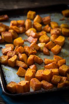 butternut squash with smoked paprika and turmeric Roasted Butternut Squash with Smoked Paprika and Tumeric Recipe only 10 mintes of effort, gluten free, vegan and paleo on Banting Recipes, Paleo Recipes, Cooking Recipes, Freezer Cooking, Potato Recipes, Vegetable Recipes, Baked Butternut Squash, Seasoning For Butternut Squash, Turmeric Recipes