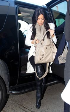 jacket swag. alexander mcqueen on kardashian. something about winter white that i love.