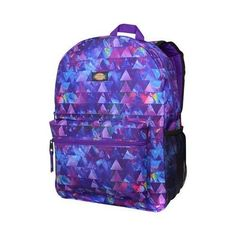 1d9b20959e28 Dickies Student Backpack Galaxy Triangle Water Bottle Backpack