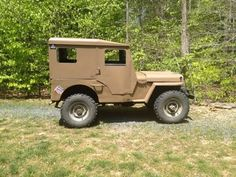 1945 Willys cj2a koenig iron works hard top submitted by mike gardner