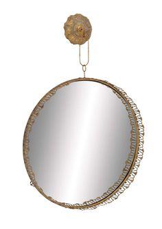 Solaris Elegant Hanging Wall Mirror | Wayfair $75
