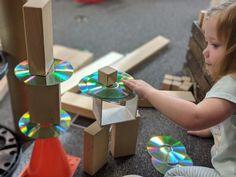 Loose Parts in Construction Preschool Block Area, Preschool Centers, Fairy Dust Teaching, Block Play, Early Childhood Education, Reggio, Fine Motor, Buildings, Construction