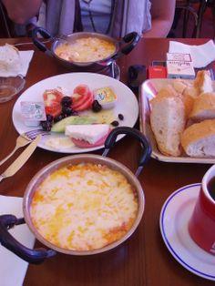 A delicious turkish breakfast!