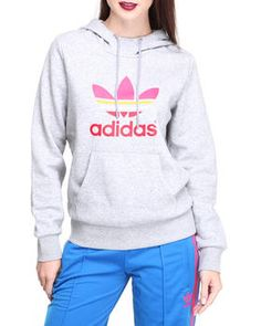 Buy Trefoil Pullover Hoodie Women's Hoodies from Adidas. Find Adidas fashions & more at DrJays.com