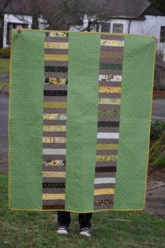 quilt back.  good way to use up scraps from quilt top!