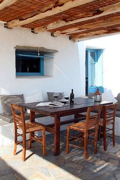 another summer house, this one is located on a Greek Island.