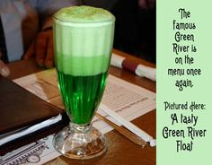 Green River Fountain Drink