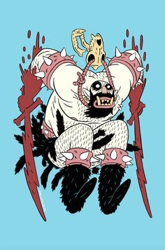 Wuvable Oaf Ogre by Andrew MacLean Fantasy Character Design, Character Design Inspiration, Character Concept, Character Art, Concept Art, Character Illustration, Illustration Art, Ligne Claire, Illustrations