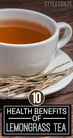 Did you ever have the privilege of having lemongrass tea? We call it a 'privilege', because the benefits this tea offers are that amazing!