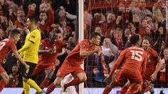 Liverpool: Borussia Dortmund defeated 4-3 in Europa League...: Liverpool: Borussia Dortmund defeated 4-3 in Europa League… #Liverpool