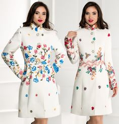 alton dame Moze ivoar cu broderie florala Cold Shoulder Dress, My Style, Floral, Dresses, Fashion, Embroidery, Florals, Gowns, Moda