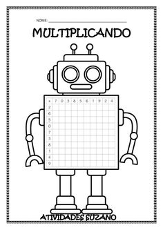 Number knowledge grid for multiplication. Free and printable from Classroom Trea… Number knowledge grid for multiplication. Free and printable from Classroom Treasures. Multiplication Grid, Multiplication Activities, Kids Math Worksheets, Numeracy, Math Resources, Math Activities, Robot Classroom, Third Grade Math, Homeschool Math