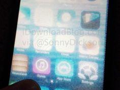 Apple: iOS 7: A primeira foto