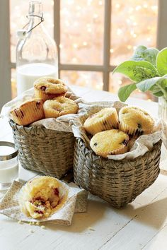 Fall Baking Recipes: Cranberry-Orange Muffins