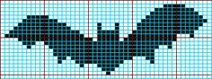 Bat Knitting Chart